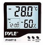 PYLE Meters PHHT15 Indoor Digital Hygro-...