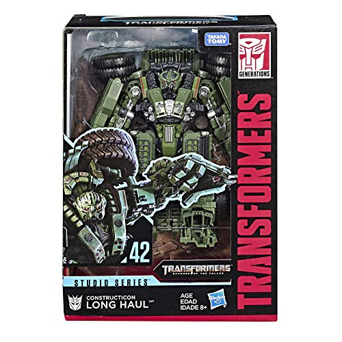 Transformers Studio Series 42 Voyager Class Transformers: Revenge of the Fallen movie Constructicon Long Haul Action Figure
