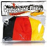 """Cepewa - Auto Außenspiegel-Fahne 2 er Set """"Deutschland"""""""