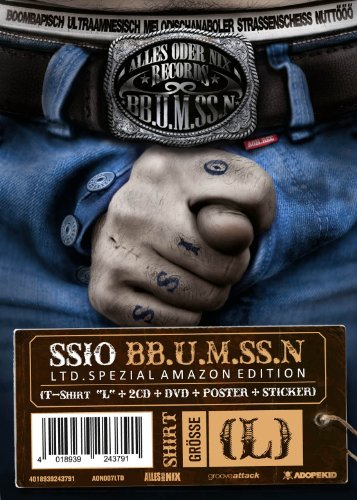 BB.U.M.SS.N - Limited Spezial Edition (2CDs+DVD+T-Shirt und Poster) -