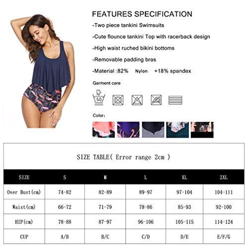 Jessie Kidden Damen Bikini-Set Gr. S, dunkelgrün - 5