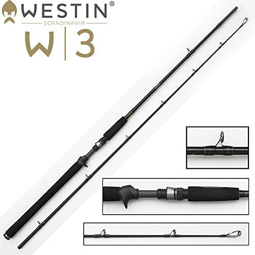 Westin Jerk Rute W3 Jerkbait 198cm XXH 40-130g für Hecht, Zander & Wels, Angelrute für Jerkbaits & Wobbler, Rute zum Jerken
