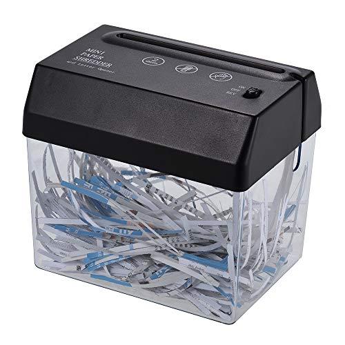 Aibecy Mini USB portatile taglierina della taglierina della carta taglierina A6 piegato A4 macchina utensile da taglio con cestello per la raccolta di rifiuti di carta per ufficio casa