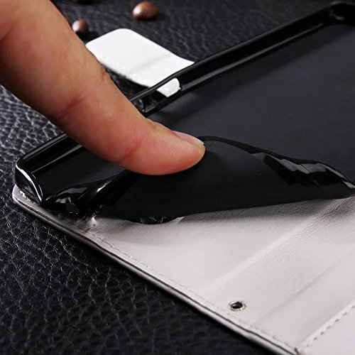 Wkae Case Cover Huawei Mate8 Fall feste Folio magnetische Design Flip Brieftasche Stil Fall Farbmuster PU-Leder-Abdeckung Standup-Abdeckungsfall für Huawei Mate8 ( Color : Brown , Size : Huawei Mate8  Blue