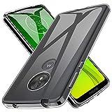 K&L LK Hülle für Motorola Moto G7 Power, Ultra Schlank Dünn TPU Gel Gummi Weiche Haut Silikon Schutzhülle Abdeckung Case Cover für Motorola Moto G7 Power (Transparent)