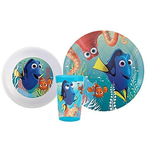 Nemo Party Supplies - Finding Dory Dish Set Finding Dory