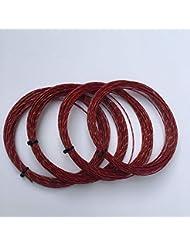 CUSHY 1 pc di qualità Morbida Tennis Corde di Nylon Stringhe di Tennis Stringa di 1,3 Millimetri 12m / pc