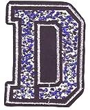 Bügel Iron on Buchstaben Aufnäher Patches für Jacken Cap Hosen Jeans Kleidung...