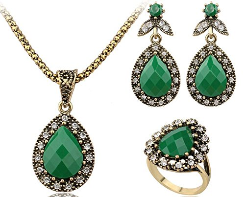 saysure-jewelry-sets-for-water-pendant-necklace-turquoise-size-10