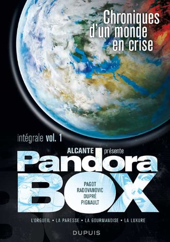 Pandora Box - L'Intégrale - tome 1 - Intégrale pandora Box 1 (T1 à T4)