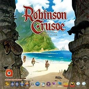 "'Wydawnictwo Portal Pop 00361–BOARD GAME Robinson Crusoe Adventures on The Cursed Island """