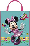 Unique Party 25346 - Large Minnie Mouse Party Bag, 33cm x 28cm