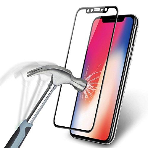 iPhone 6/6s Plus protection écran, Vokamo [Couverture complète] en verre trempé ultra fin, 3d courbé Surface Radian intégration anti-rayures anti-traces film de protection pour iPhone 6Plus iPhone 6S Plus