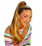 shoperama Haar-Verlängerung - Langer Zopf an Haarspange - Haarteil Pferdeschwanz , Farbe: Blond