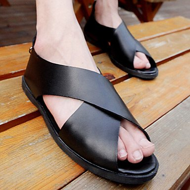 Herren Schuhe Casual Sandalen weitere Farben Schwarz