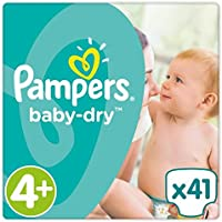 Pampers Baby Dry couches Taille 4  + Essential Lot 41