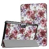 Étui de protection pour Acer Iconia Tab One 10B3-A30A3A4010.1Pouces Case BookStyle Cover Coque Frühlingsblüten