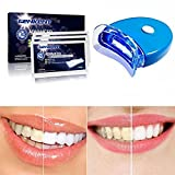 Genkent Teeth Whitening Kit Advanced Teeth Whitening Strips and Teeth Light Whitening Accelerator