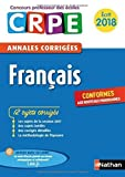 Image de Annales CRPE 2018 : Français