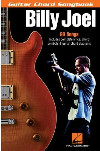 Billy Joel - Guitar Chord Songbook: 6 inch. x 9 inch. by Billy Joel (2005-04-01)