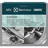 AEG M3GCP400 9029799195 Clean and Care - für Waschmaschine und Geschirrspüler (Inhalt 12 Stück) 3‑in‑1 Reinigung und Pflege Entfettungs-, Entkalkungs- und Hygienemittel