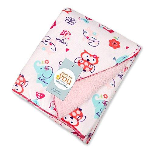 (Sweet Dreams) - Baby Newborn Blanket Baby Soft Warm Pram Moses Basket Crib (Sweet Dreams)