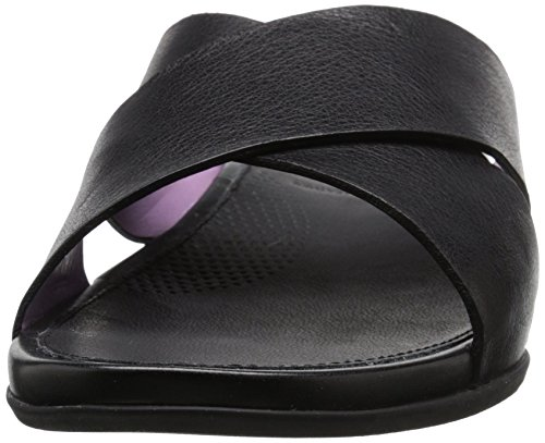 FitFlop Woman Aix Slide Sandal Black Black
