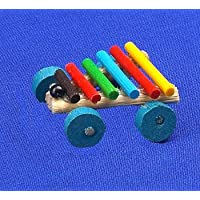 12th Scale Dolls House Nursery Accessory - Xylophone on Wheels