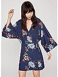 Pepe Jeans Damen Kimono Kleid Blau blau, Kimono, Blau M