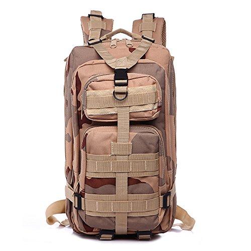 35L Camping Wandern Trekking Tasche Military Tactical Rucksack Camouflage desert camouflage