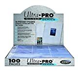 Ultra PRO 150122 - Silver Series, 100 Fogli per Raccoglitore di schede
