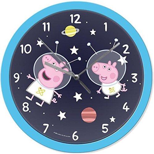 PEPPA PIG Horloge ?25 cm - Bleu