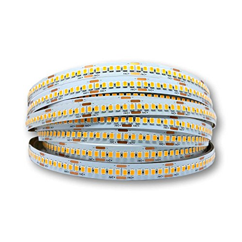 alupona LED Streifen 28.8W/m 24V 238leds/m CRI90 neutralweiß IP20 Stripe Band Lichterkette Stripes Strip Farbe 2 Meter (200cm)