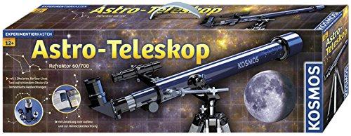 Preisvergleich Produktbild KOSMOS 677015 - Astro-Teleskop, Refraktor 60/700