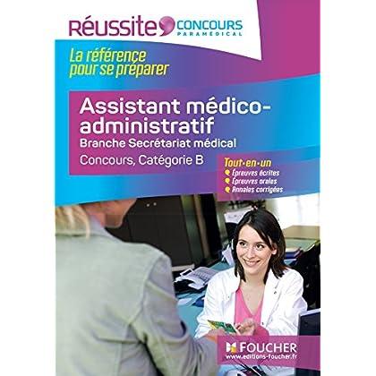 Réussite Concours - Assistant médico-administratif-Branche Secrétariat médical - Nº34
