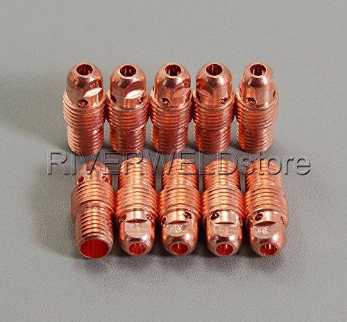 13 N29 3,2 mm 1/20,3 cm TIG Corps de Collet pour SR PTA wp-9 20 25 Lampe torche TIG soudage 10