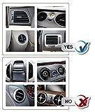 Handyhalterung Auto Kratzschutz 360°Drehbarem Gelenk [Lebenslange Garantie] IZUKU Handyhalter Auto Lüftungsgitter Universal Kompatibel für alle Smartphones mit einer Breite von 5,3cm bis 9,5cm - 6