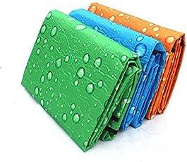 Krupalu Reversible (150 X 180cm) Plastic Mat for Home, Kids Play, Living Room, Garden, Bedroom Floor - 1pc (Color May Very)