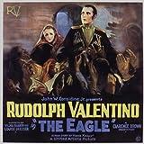 The Eagle, Vilma Banky, Rudolph Valentino, 1925 - Premium-Filmplakat Reprint 28x28 Inch Ungerahmt