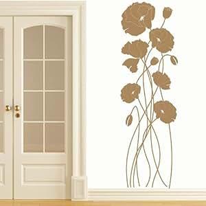 Papavero - Selezionare Colore Desiderato Dimensioni - 160 x 50cm, marrone chiaro