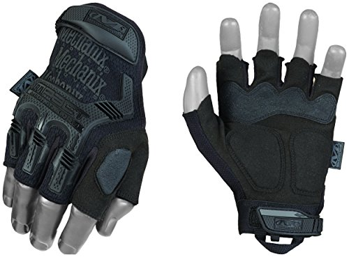 Mechanix Fingerlose m-Pact schwarz, schwarz