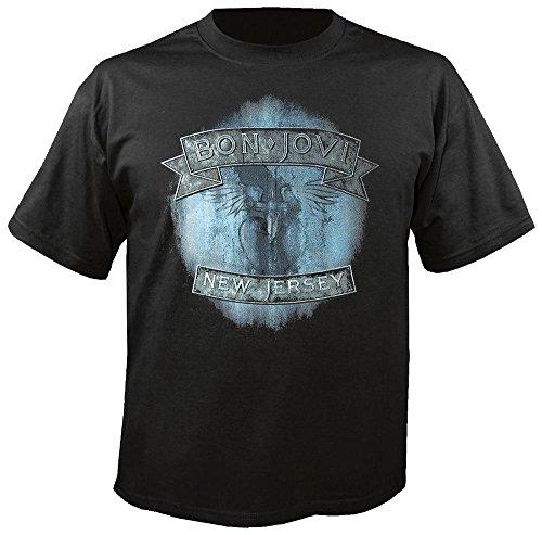 Bon Jovi T-shirts (BON JOVI - New Jersey - T-Shirt Größe XL)