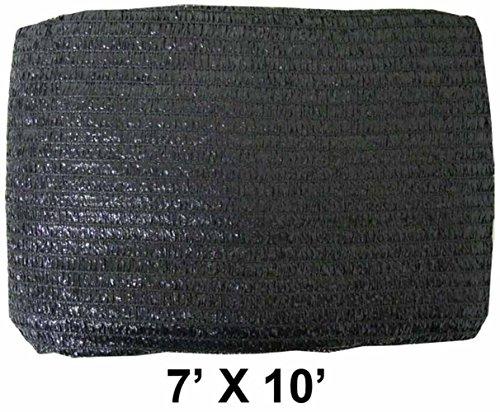 7 X 10 Abat-jour Noir Net