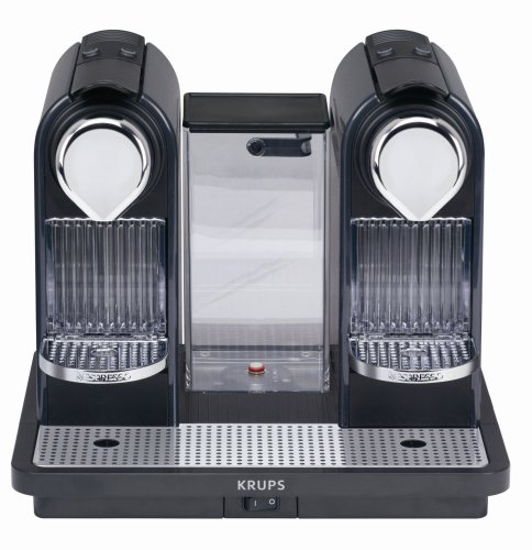 Krups XN 7505 NESPRESSO® CitiZ und Co steel grey, Plus X Award