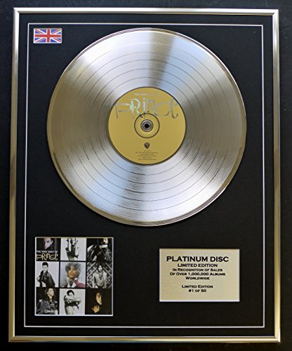 Prince/Ltd Edition CD Platinum Disc/THE VERY BEST OF