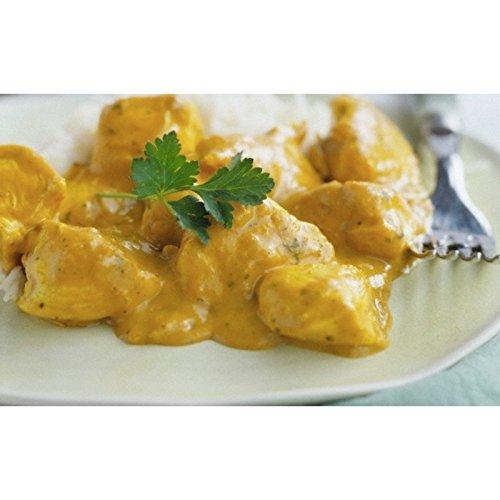 Dinde au curry - Le régime protéiné