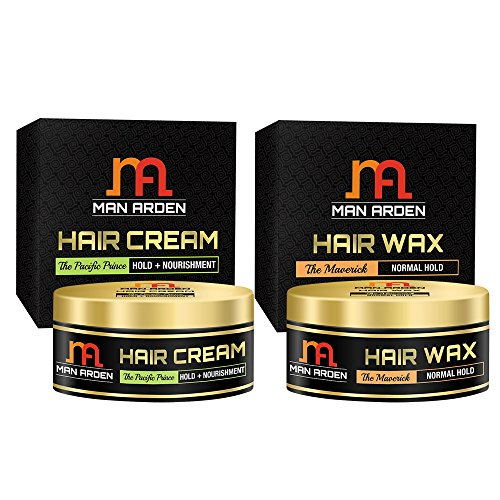 Man Arden Hair Cream (Pacific Prince) + Hair Wax (The Maverick)