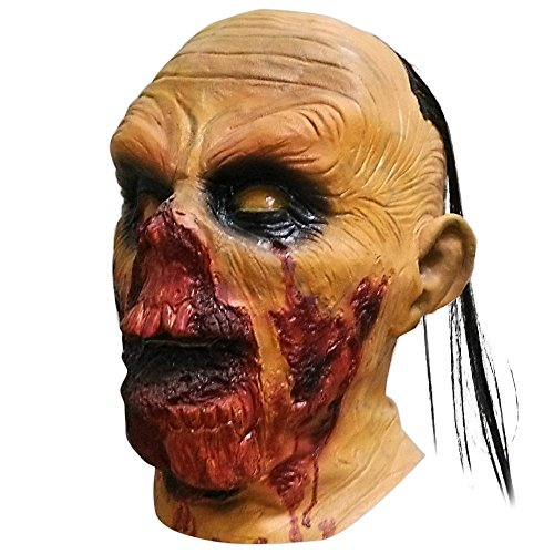 (shoperama Zombie Latex-Maske THE WALKING DEAD in Lebensmittelqualität)