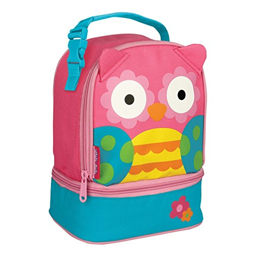 Stephen Joseph Owl Lunch Pal/Lunch Box, Pink