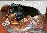 Frei Schnauze 2018. Was Hunde sagen würden (Wandkalender 2018 DIN A3 quer): 12 witzige Aussagen, die Hunden in die Schnauze gelegt wurden. (Monatskalender, 14 Seiten ) (CALVENDO Tiere)